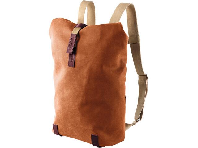 Brooks Pickwick Canvas Backpack small goose beak/maroon